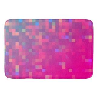 Tapete De Banheiro Teste padrão brilhante & colorido do pixel