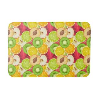 Tapete De Banheiro Teste padrão colorido da fruta do divertimento