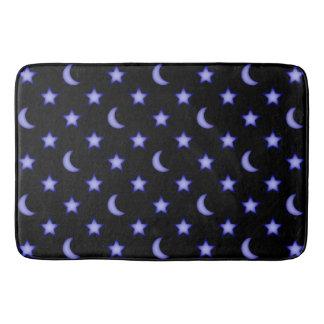 Tapete De Banheiro Teste padrão das luas e de estrelas