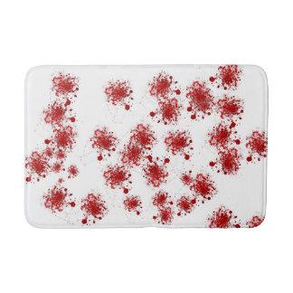 Tapete De Banheiro Teste padrão de gotejamento dos Splatters do