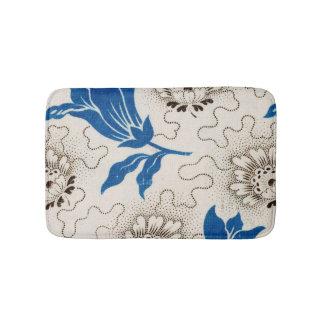 Tapete De Banheiro Teste padrão floral do vintage bonito na esteira