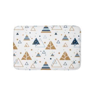 Tapete De Banheiro Teste padrão geométrico moderno 2 dos triângulos