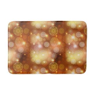 Tapete De Banheiro Teste padrão luxuoso floral da mandala