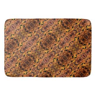 Tapete De Banheiro Teste padrão moderno da silhueta das folhas de