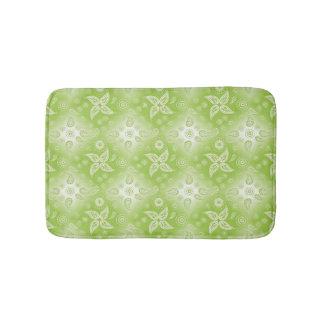 Tapete De Banheiro teste padrão verde abstrato de paisley