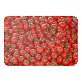 Tapete De Banheiro Tomates vermelhos da videira