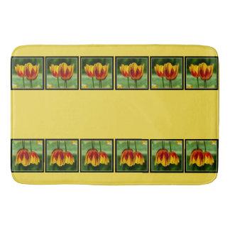 Tapete De Banheiro Tulipas red_009_q_R5 amarelo 05.2.2