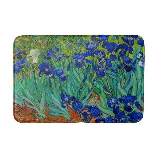 Tapete De Banheiro Van Gogh torna iridescente o azul floral do