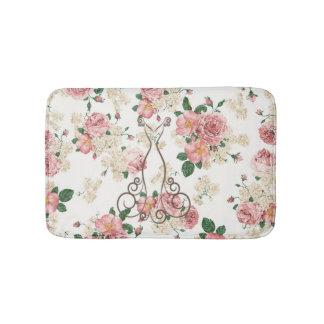 Tapete De Banheiro Vestido elegante adorável, floral