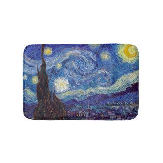 Tapete De Banheiro VINCENT VAN GOGH - noite estrelado 1889