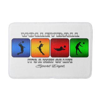 Tapete De Banheiro Voleibol legal é um modo de vida