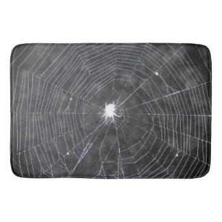 Tapete De Banheiro Web de aranha na noite