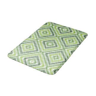 Tapete De Banheiro Ziguezague verde