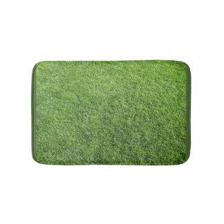 Tapete de banho com grama
