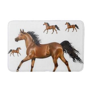 tapete de banho do cavalo dos animais selvagens