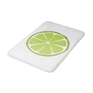 Tapete de banho do limão do citrino do verão