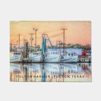 """Tapete De """"ícones do porto Fulton """""""