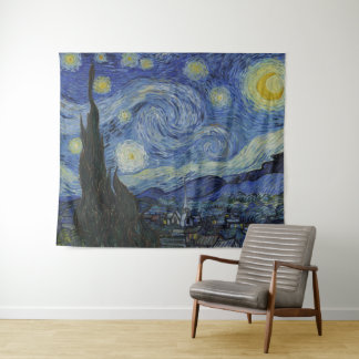 Tapete De Parede Belas artes de Vincent van Gogh GalleryHD da noite