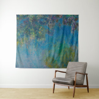 Tapete De Parede Belas artes GalleryHD floral das glicínias de
