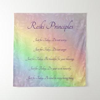 Tapete De Parede Design da mandala do arco-íris dos princípios de