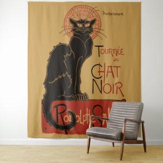 Tapete De Parede Gato preto de Arte Nouveau Le Conversa Noir do