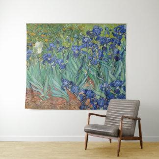 Tapete De Parede Íris pela arte de Vincent van Gogh GalleryHD