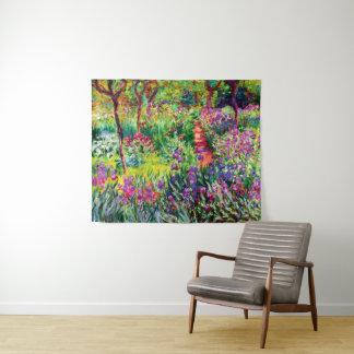 Tapete De Parede O jardim da íris em Giverny por Claude Monet