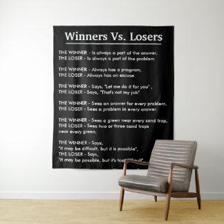 Tapete De Parede Vencedores contra vencidos