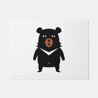 Tapete Desenhos animados do urso preto