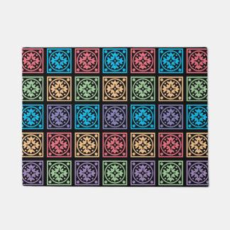 Tapete Design colorido dos quadrados