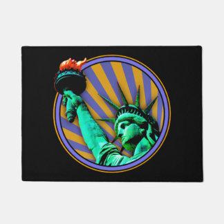 Tapete Design do emblema da estátua da liberdade