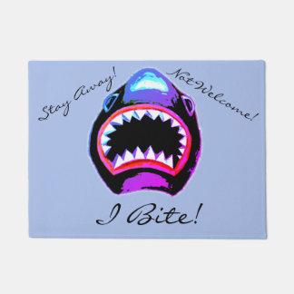 Tapete Design feroz engraçado do tubarão