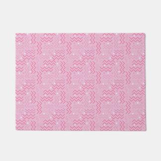 Tapete Design Funky de Memphis do rosa Pastel