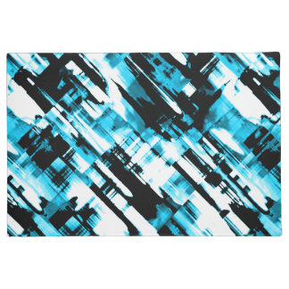 Tapete Digitalart quente G253 do abstrato do preto azul