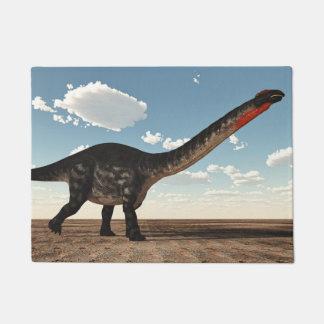 Tapete Dinossauro do Apatosaurus no deserto - 3D rendem