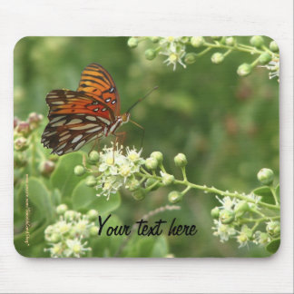 Tapete do rato alguma borboleta da laranja da ocas mousepad