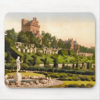 Tapete do rato de Scotland do castelo de Drummond Mouse Pad