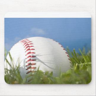 Tapete do rato do basebol do verão mouse pad