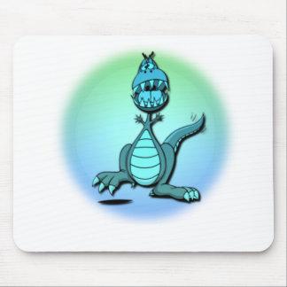 Tapete do rato do design do dragão da dança mouse pads