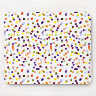 Tapete do rato dos confetes - tapete do rato das mousepad