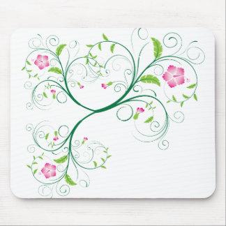 Tapete do rato floral do verão mousepads