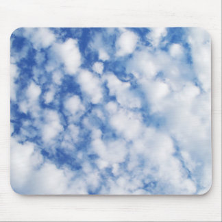 Tapete do rato macio das nuvens mouse pad