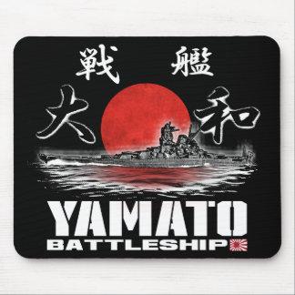 Tapete do rato Mousepad de Yamato da navio de