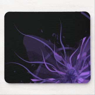 Tapete do rato roxo da explosão mouse pad