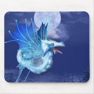Tapete do rato voado do dragão em vôo mouse pads
