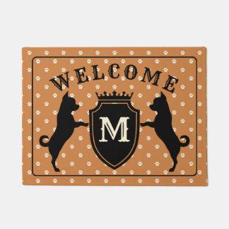 Tapete Doormat customizável da chihuahua