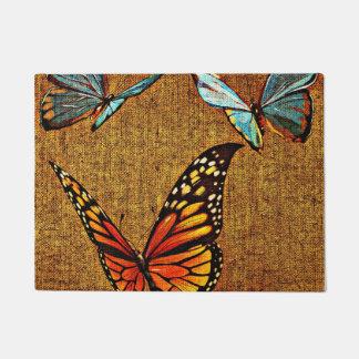 Tapete Doormat da borboleta
