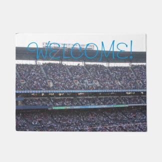 Tapete Doormat da multidão do estádio