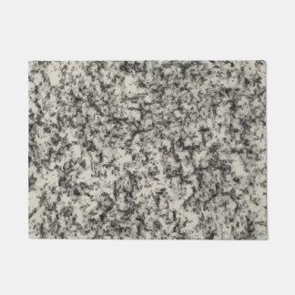 Tapete doormat de mármore do printe da textura do granito