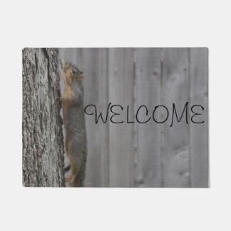 Tapete Doormat do esquilo
